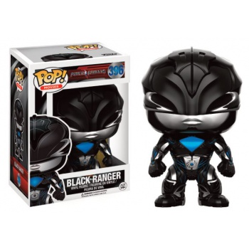 Power rangers movies funko pop black ranger vinyl figure 10cm