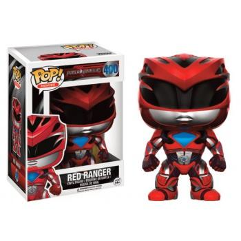 Power Rangers Movies Funko POP - Red Ranger Vinyl Figure 10cm