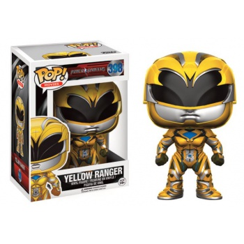 Power rangers movies funko pop yellow ranger vinyl figure 10cm