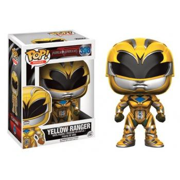 Power Rangers Movies Funko POP - Yellow Ranger Vinyl Figure 10cm