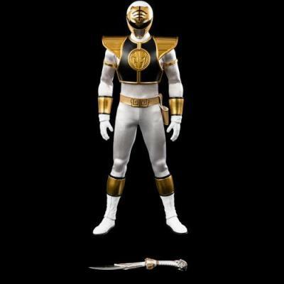 POWER RANGERS - THREEZERO - White Ranger