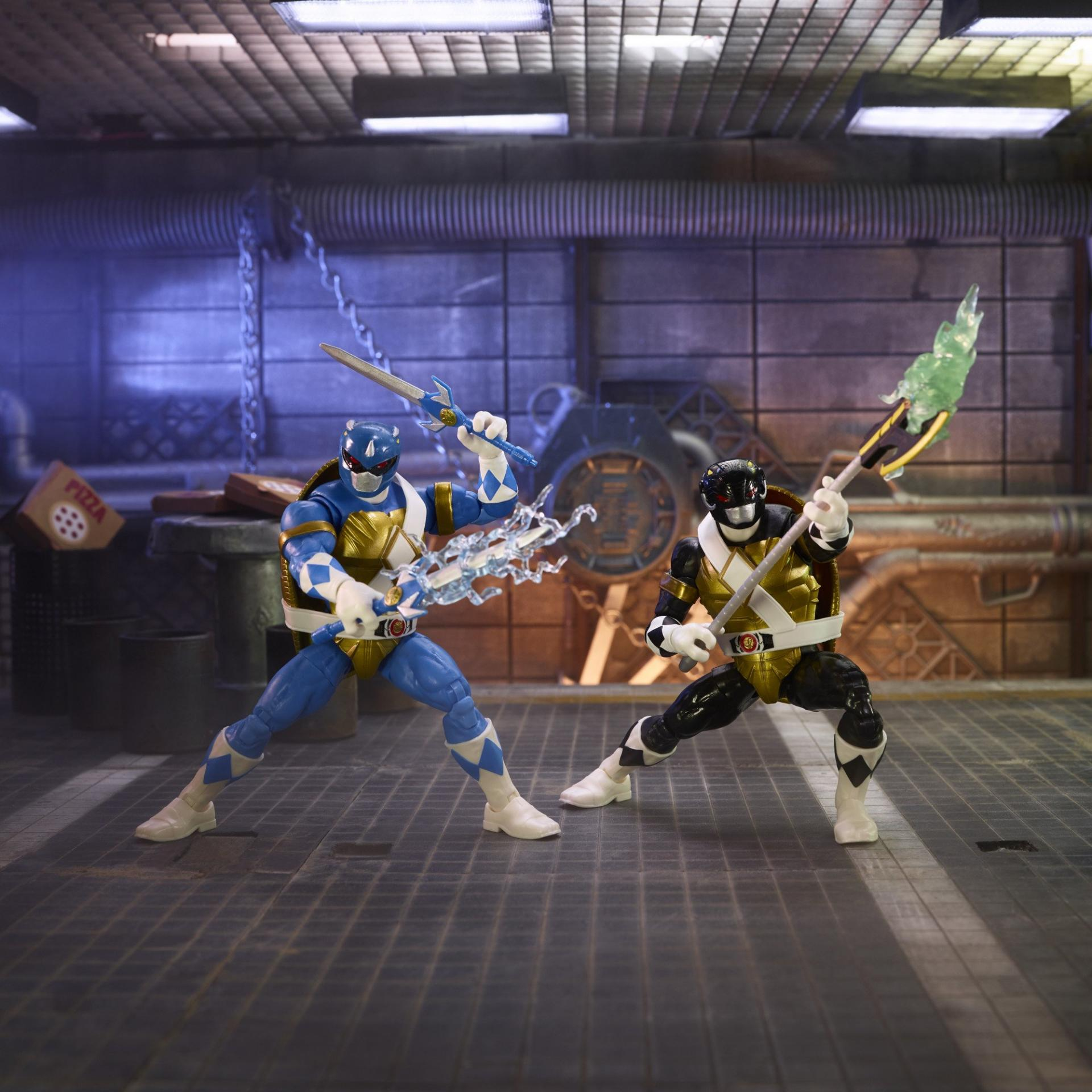 Power rangers tortue ninja tmnt lightning collection morphed donatello morphed leonardo 15cm1