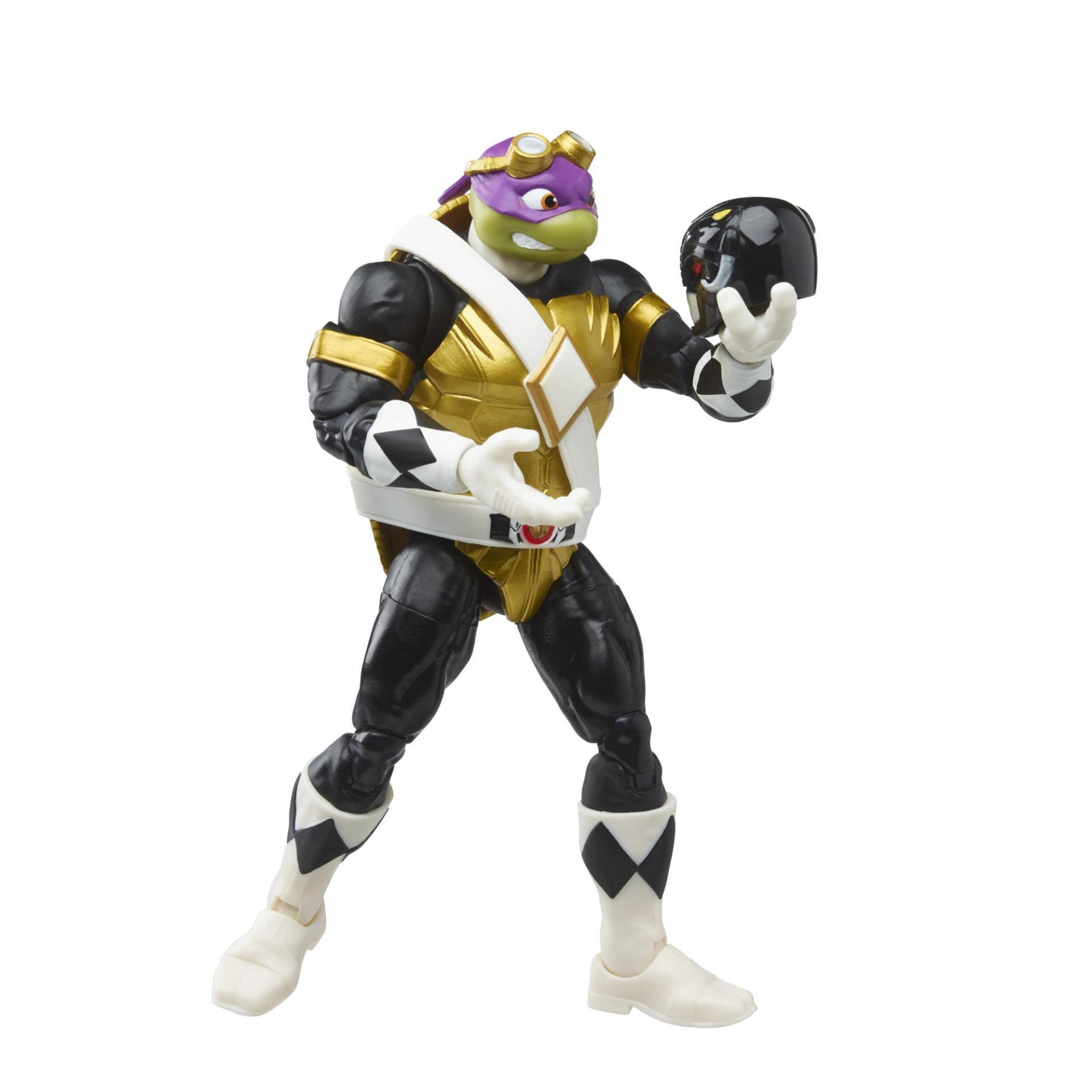 Power rangers tortue ninja tmnt lightning collection morphed donatello morphed leonardo 15cm5