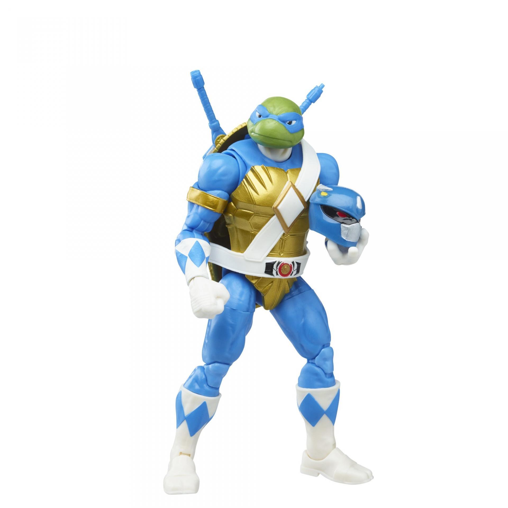 Power rangers tortue ninja tmnt lightning collection morphed donatello morphed leonardo 15cm6