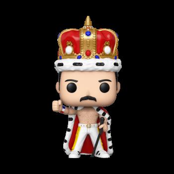 QUEEN - Funko POP! Rocks - Freddie Mercury King Vinyl Figure 10cm