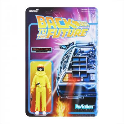 Back To The Future - ReAction Series - Marty Mcfly Radiation Suit 9cm