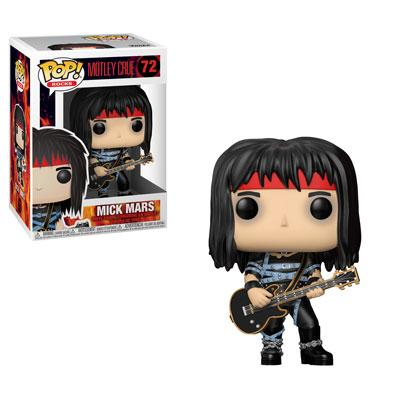 ROCK - Funko POP! Rocks - Mötley Crüe - Mick Mars Vinyl Figure 10cm