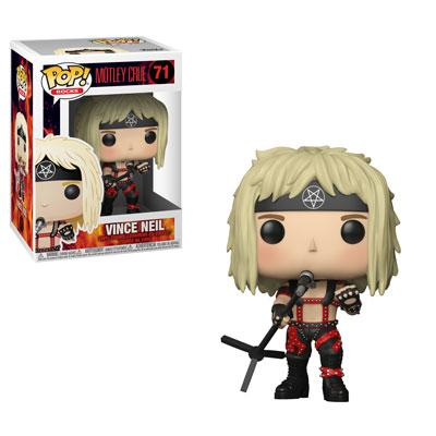 ROCK - Funko POP! Rocks - Mötley Crüe - Vince Neil Vinyl Figure 10cm