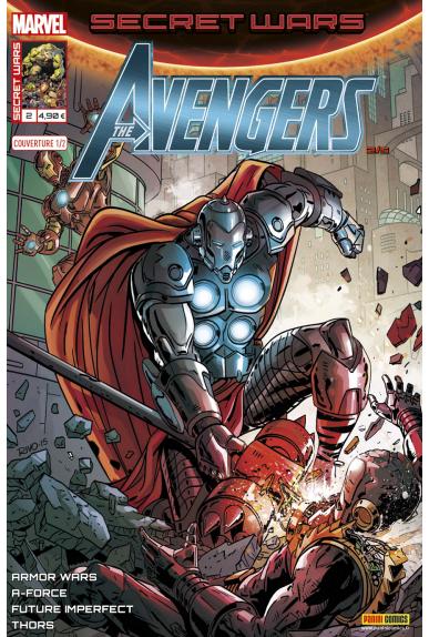 Secret wars 2 avengers couverture 1 kiosque panini comics france marvel jpg
