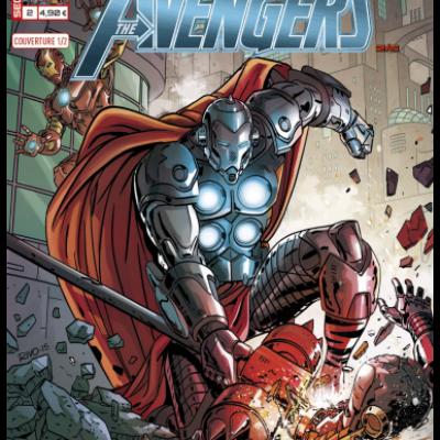 Marvel SECRET WARS - AVENGERS 2 Couverture 1/2 Paul Rivoche