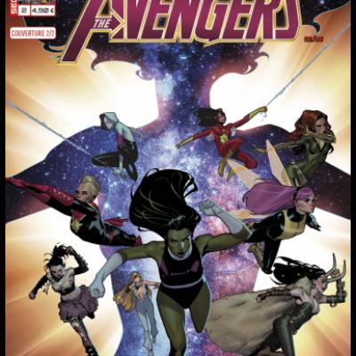 Marvel SECRET WARS - AVENGERS 2 Couverture 2/2 Jorge Molina