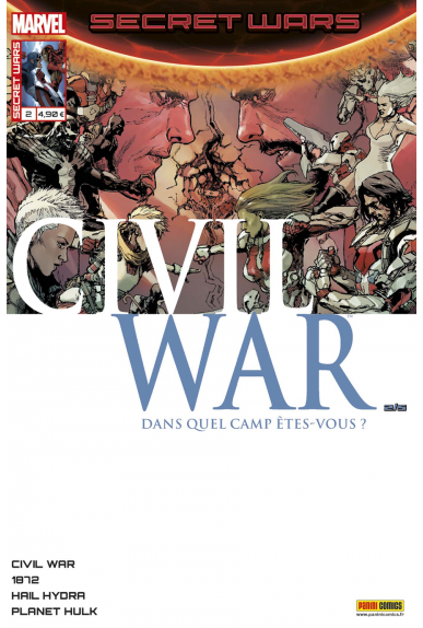 Secret wars 2 civil war kiosque panini comics france marvel jpg