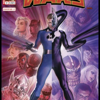 Marvel SECRET WARS 2 - Couverture 1/2 Alex Ross