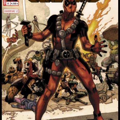 Marvel SECRET WARS - DEADPOOL 2 Cover 1/2 Simone Bianchi