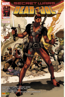 Marvel SECRET WARS - DEADPOOL 2 Couverture 1/2 Simone Bianchi