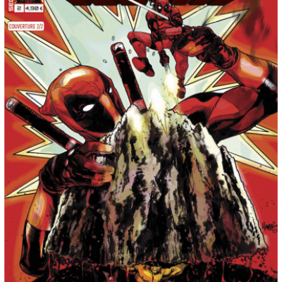 Marvel SECRET WARS - DEADPOOL 2 Cover 2/2 Tony Harris