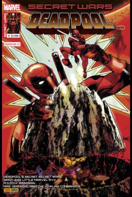 Marvel SECRET WARS - DEADPOOL 2 Couverture 2/2 Tony Harris
