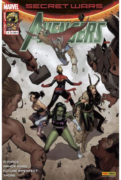 Secret wars 3 avengers kiosque panini comics france marvel jpg