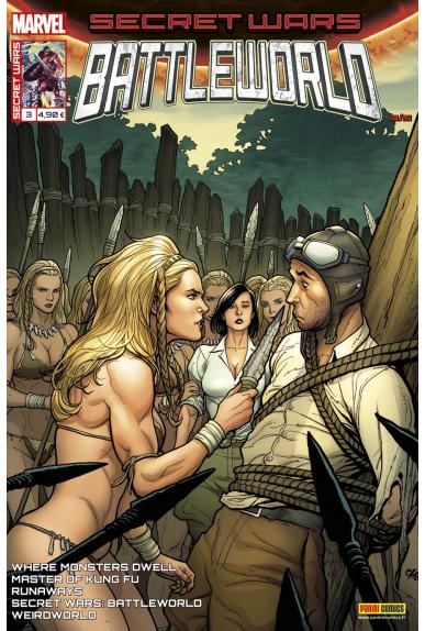 Secret wars 3 battleworld kiosque panini comics france marvel jpg