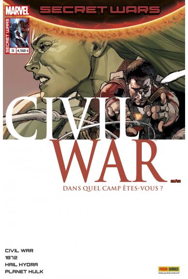 Secret wars 3 civil war kiosque panini comics france marvel jpg