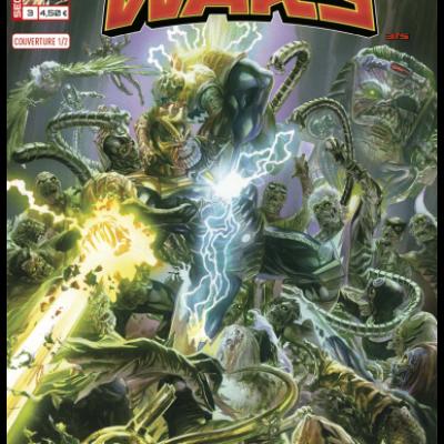 Marvel SECRET WARS 3 - Couverture 1/2 Alex Ross
