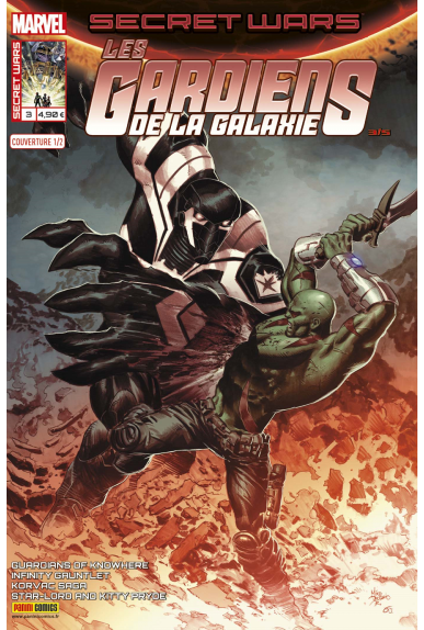 Secret wars 3 gardiens de la galaxie couverture a kiosque panini jpg