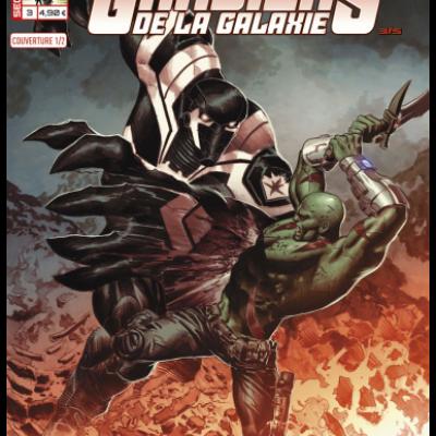 Marvel SECRET WARS - LES GARDIENS DE LA GALAXIE 3 couv  1/2 Mike Deodato Jr