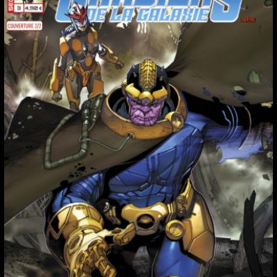 Marvel SECRET WARS - LES GARDIENS DE LA GALAXIE 3 couv  2/2 Simone Bianchi