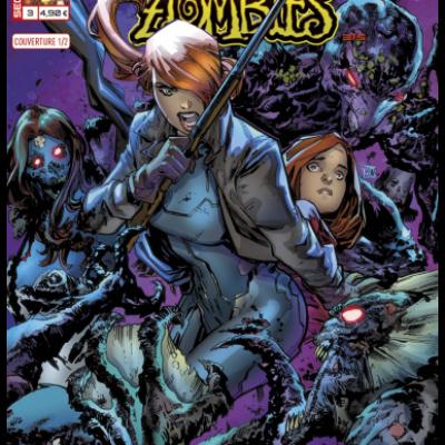 Marvel SECRET WARS - MARVEL ZOMBIES 3 couv 1/2 Ken Lashley