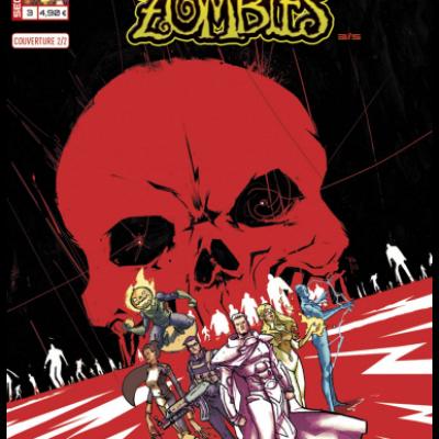 Marvel SECRET WARS - MARVEL ZOMBIES 3 couv  2/2 Riley Rossmo