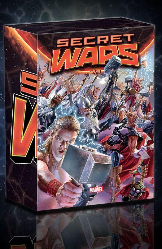 Secret wars marvel panini coffret janvier 2016