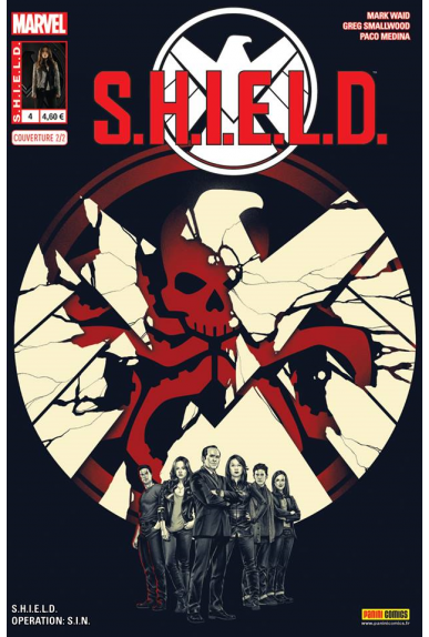 Shield 4 agents bimestriel panini marvel kiosque couverture 2 jpg