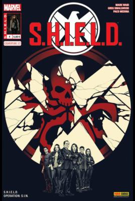 Marvel - S.H.I.E.L.D. 4 - cover 2/2 série télé