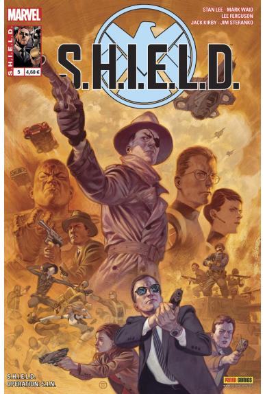Shield 5 agents bimestriel panini marvel kiosque jpg