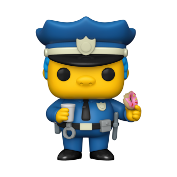 Simpsons funko pop chief wiggum 10cm