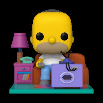 Simpsons funko pop deluxe homer watching tv