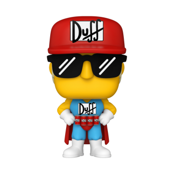 Simpsons funko pop duffman 10cm
