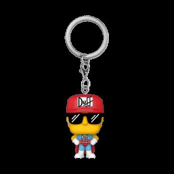 Simpsons funko pop keychains duffman