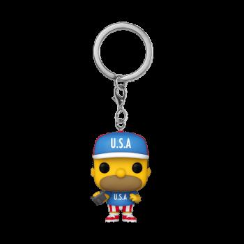Simpsons funko pop keychains usa homer