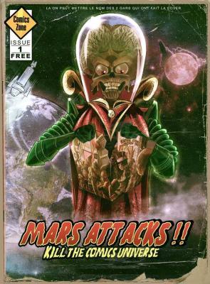 SKETCHBOOK FCBD FRANCE 2019 :  Mars Attacks ! kills comics universe