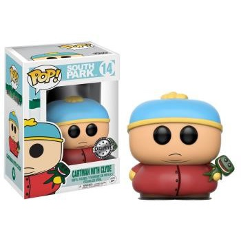 South park funko pop animation cartman with clyde 10cm