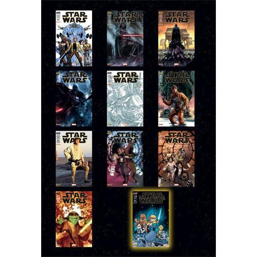 Star wars 1 couverture par john cassaday et skottie young tome 1 coffret collector limite a 700 ex 1