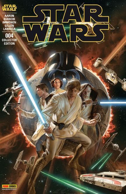 Star wars 4 couverture collector cote lumineux de la force
