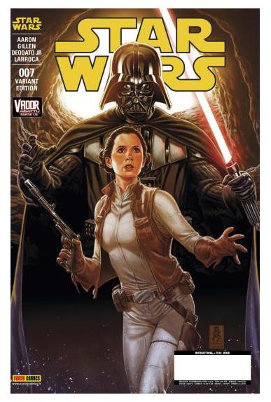 Star wars 7 couverture b dark vador abattu partie 1 sur 2 panini jpg