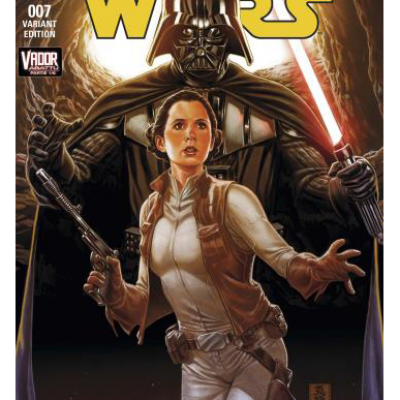 STAR WARS 7 -  VADOR ABATTU 2/2  Couverture Mark Brooks