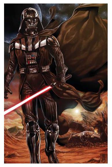 Star wars 7 couverture collector coffret dark vador abattu