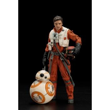 Star Wars ARTFX+ Episode VII - The Force Awakens - Poe Dameron & BB-8 ARTFX+ 2-Pack Statue 18/7cm