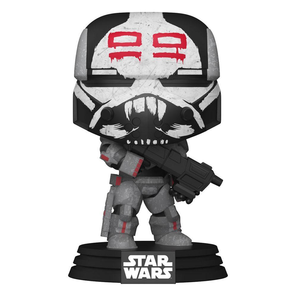 Star wars bad batch funko pop wrecker 10cm