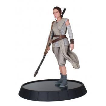 Star wars diamond select toys milestones the force awakens rey 1 6 statue