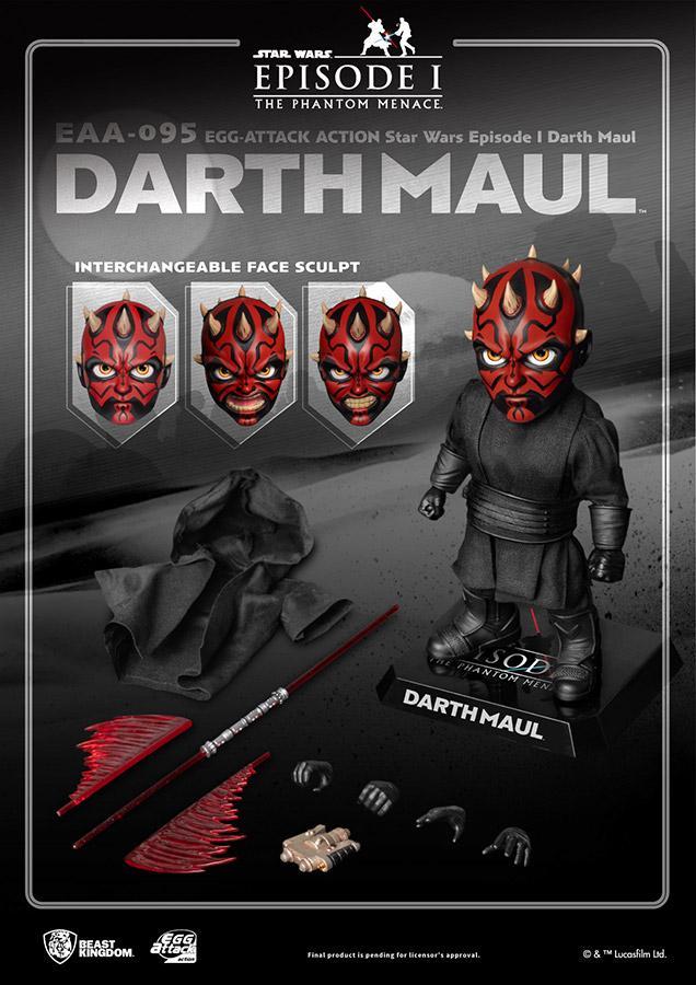 Star wars egg attack darth maul